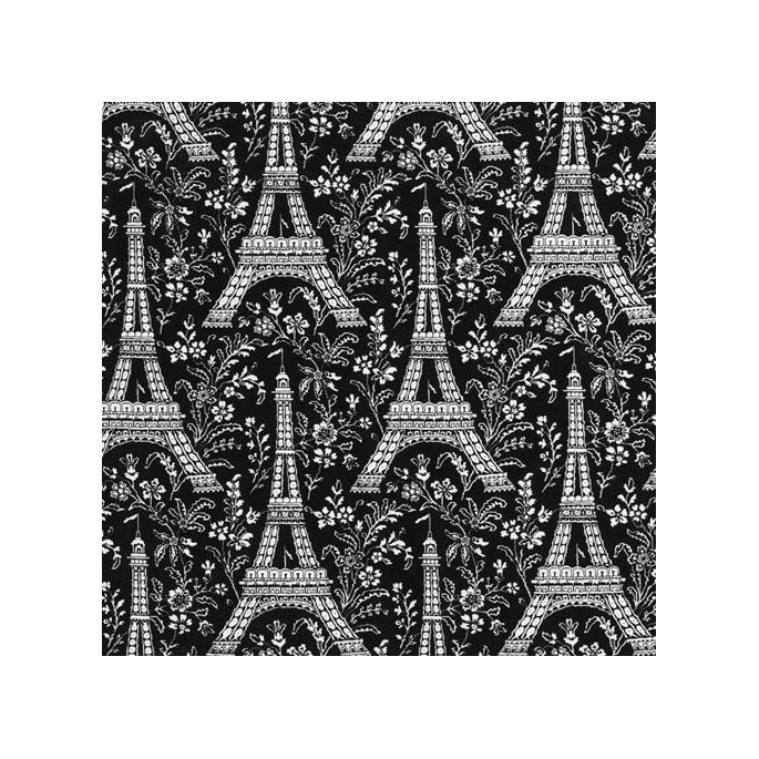 Cotton - Paris Eiffel Tower - Michael Miller per 10cm