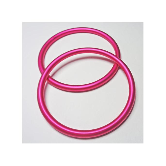 Sling Rings Fushia Size L (1 pair)