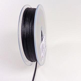 Queue de rat 3mm Noir (au mètre)