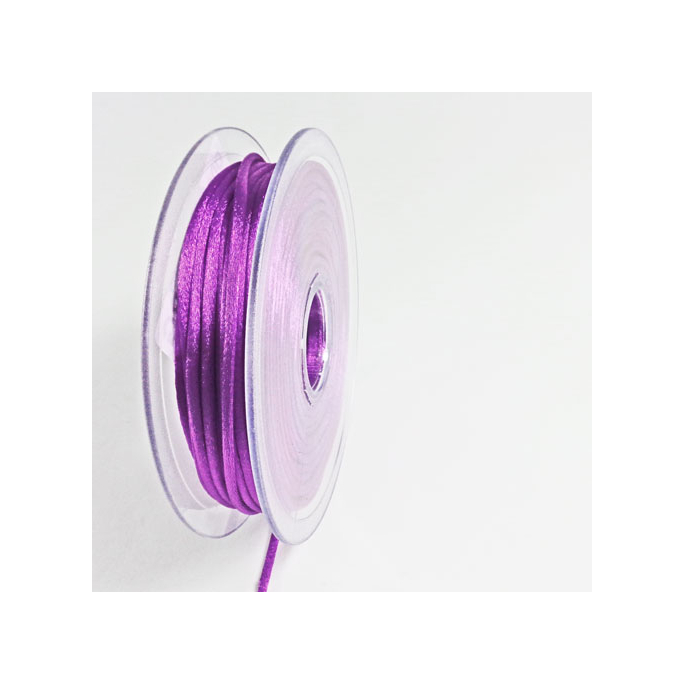 Rat tail cord 3mm Purple (by meter)