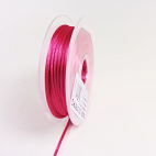 Rat tail cord 3mm Punch Pink (by meter)