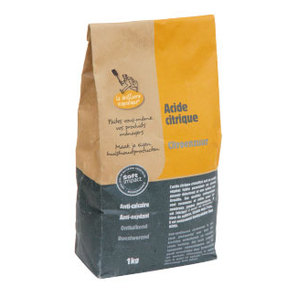 Citric acid powder (1kg bag)