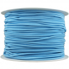 Elastique cordon 2mm Bleu (au mètre)
