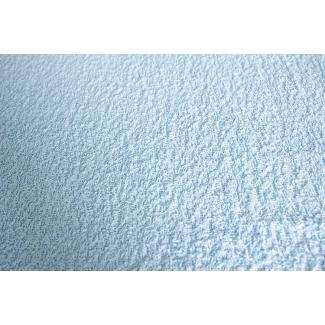 Eponge de coton Oekotex Laize 160cm Bleu Dragée (au mètre)