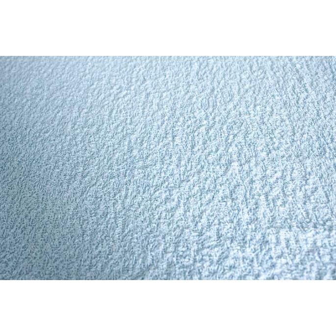Cotton Terry Oekotex Width 160cm Bleu Dragee (per meter)