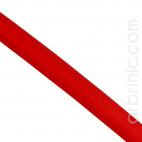 Satin Bias Binding 20mm Dark Red (by meter)