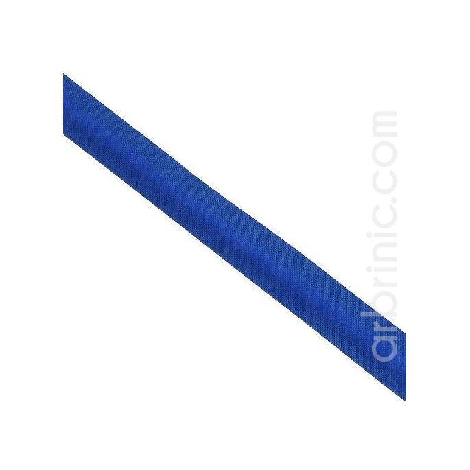 Biais Satin 20mm Bleu Roy (au mètre)