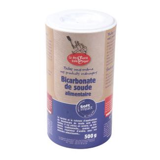 Bicarbonate de soude alimentaire (tube 500g)