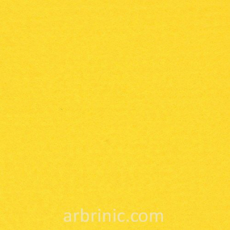 Felt Sheet A4 Citron Yellow