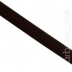 Biais Satin 20mm Chocolat Foncé (au mètre)