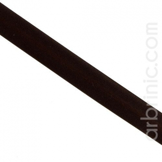 Satin Bias Binding 20mm Dark Chocolate (by meter)