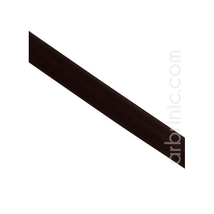 Satin Bias Binding 20mm Dark Chocolate (by meter)