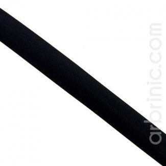 Biais Satin 20mm Noir (au mètre)