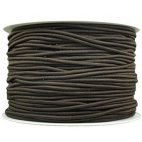 Thick Round Cord Elastic Brown (by meter)