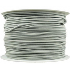 Thick Round Cord Elastic Grey (by meter)