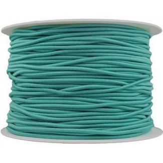 Elastique cordon 2mm Turquoise (au mètre)