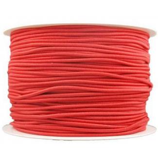 Elastique cordon 2mm Rouge (au mètre)