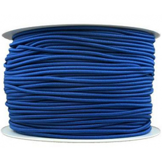 Thick Round Cord Elastic Royal Blue (by meter)