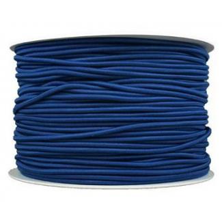 Elastique cordon 2mm Bleu Marine (au mètre)