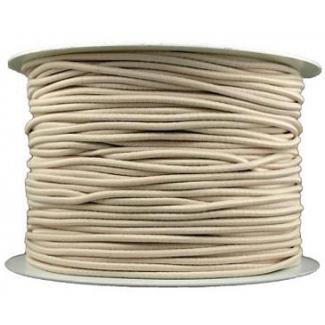 Elastique cordon 2mm Ecru (bobine 100m)