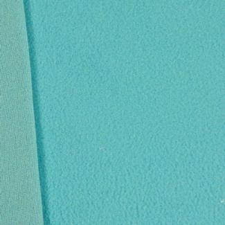 Micropolaire fine Oekotex - Turquoise (au mètre)