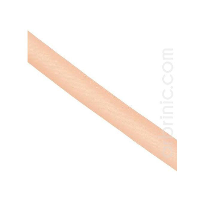 Satin Bias Binding 20mm Light Pink (by meter)