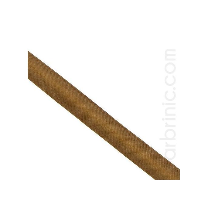 Satin Bias Binding 20mm Chocolate (25m roll)