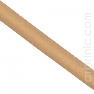 Satin Bias Binding 20mm Light Chocolate (25m roll)