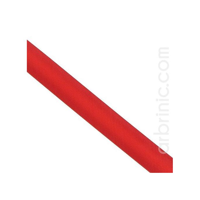 Satin Bias Binding 20mm Red (25m roll)