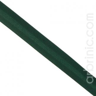 Satin Bias Binding 20mm Dark Green (25m roll)