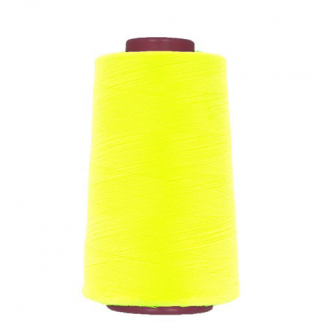 Cône fil polyester Jaune Fluo (4573m)