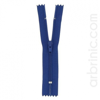 Nylon finished zipper Navy Blue