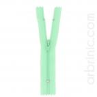 Fermeture fine nylon NS 10cm Vert Celadon