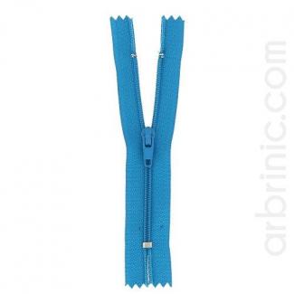 Fermeture fine nylon non séparable Turquoise