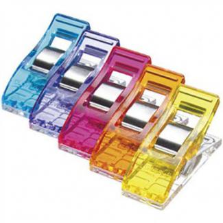 Pinces Prodige CLOVER couleurs assorties (50 pinces)