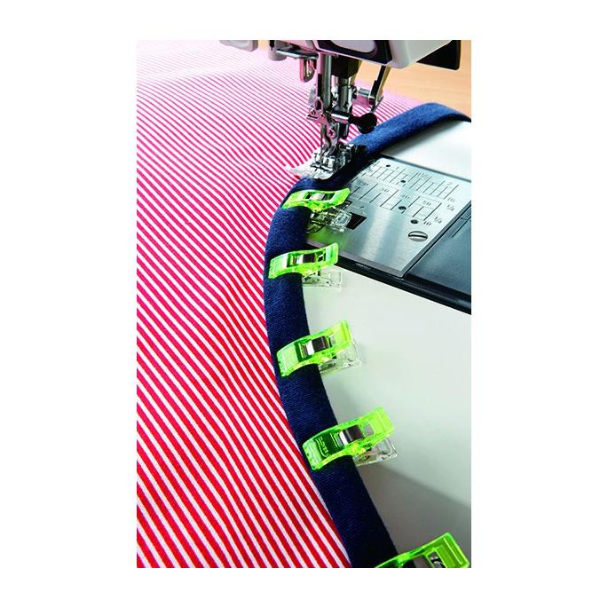 Clover wonder clips Neon Green (10 pcs)