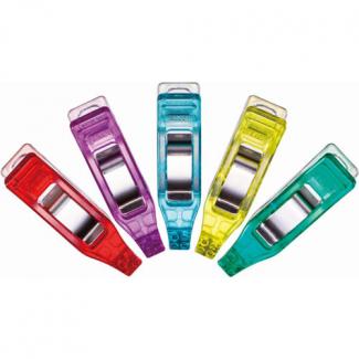 Pinces Prodige Mini CLOVER couleurs assorties (50 pinces)