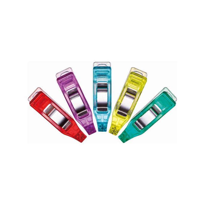 Clover mini wonder clips assorted colors (50 pcs)