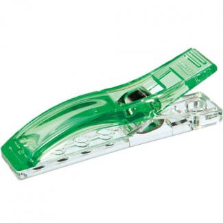 Clover jumbo wonder clips neon green (12 pcs)