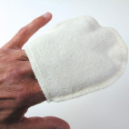 Mini Makeup Remover Gloves Reusable Organic Cotton (x4)