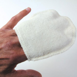 Mini Gants à Démaquiller Réutilisables en coton bio (x4)