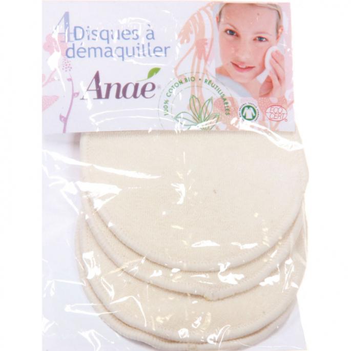 Makeup Remover Pads Reusable Organic Cotton (x4)