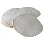 Breast feeding Pads Reusable Organic Cotton (x6)