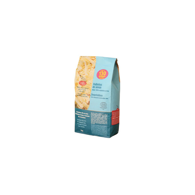 Paillettes de savon aux huiles bio Ecodétergent (1kg)