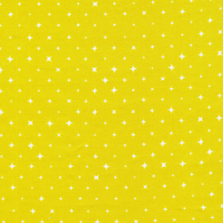 Organic cotton print Oasis Citron Stars Cloud9