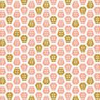Coton Bio imprimé Vignette Coccinelle Cloud9 (par 10cm)