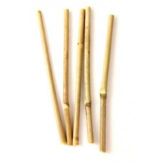 Pailles en bambou : sirotez écologique ! (pack de 5 pailles)
