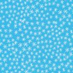 Organic cotton print Festive Snowflakes Cloud9