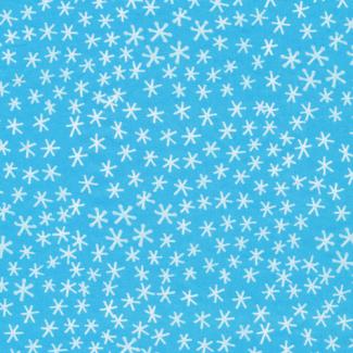 Coton Bio imprimé Festive Snowflakes Cloud9