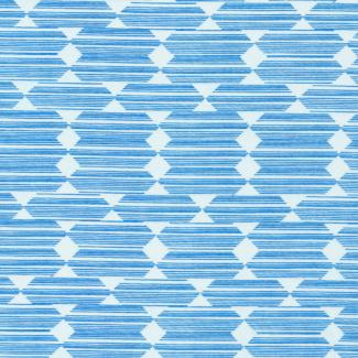 Organic cotton print Lore Anecdote Blue Cloud9